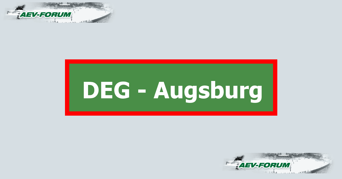 Augsburg single forum