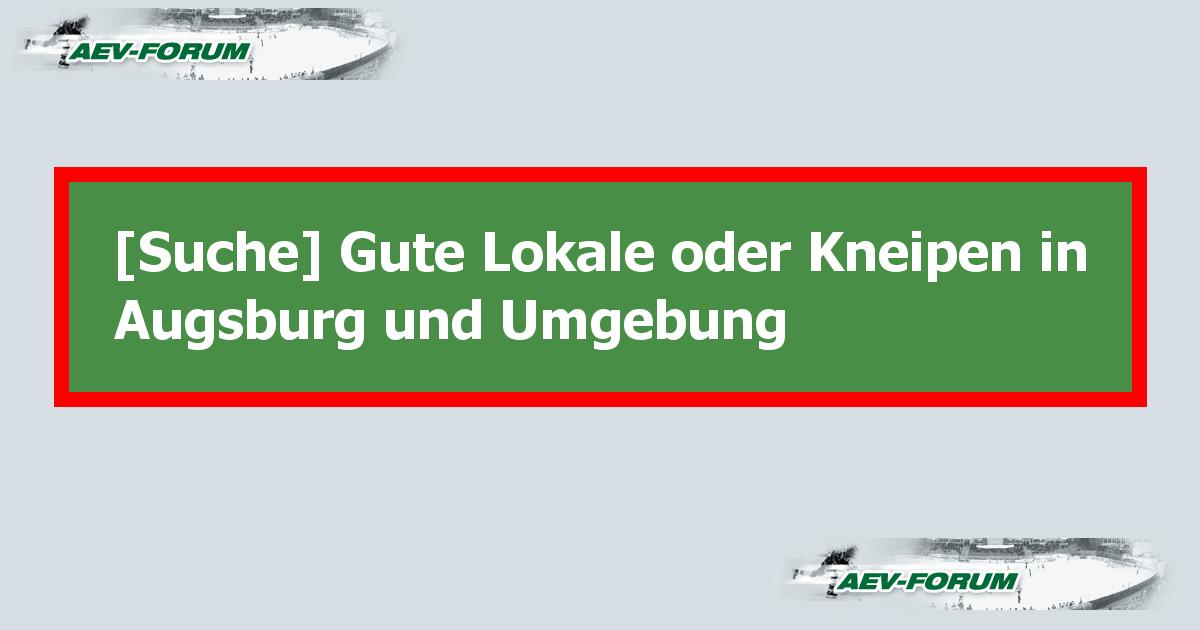 kneipen in augsburg